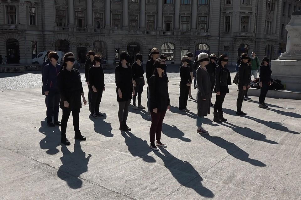 Performance feminist de 8 martie